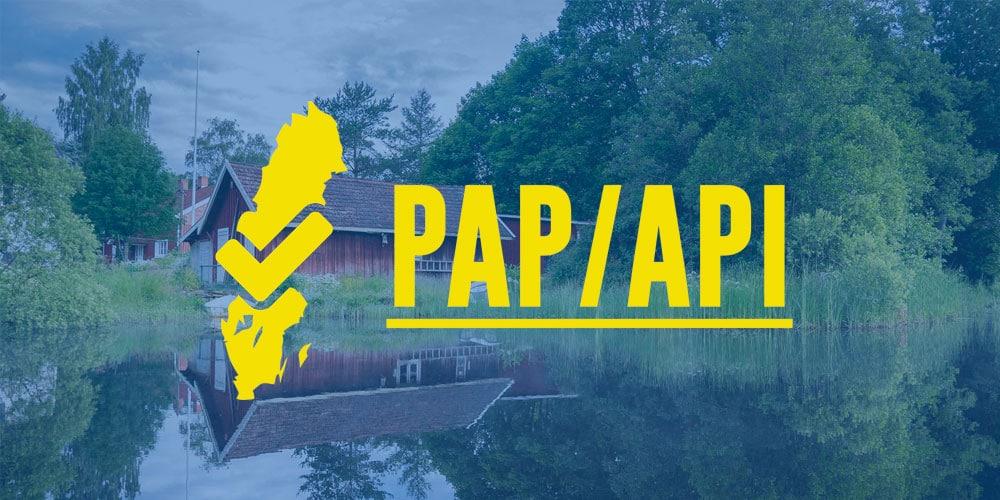 Snart två år med PAP-API
